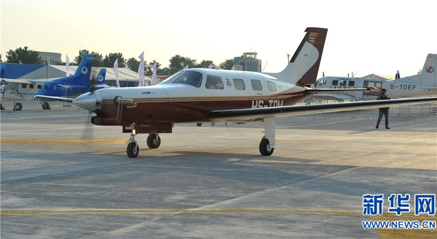 境外私人飞机首次直飞郑州上街机场