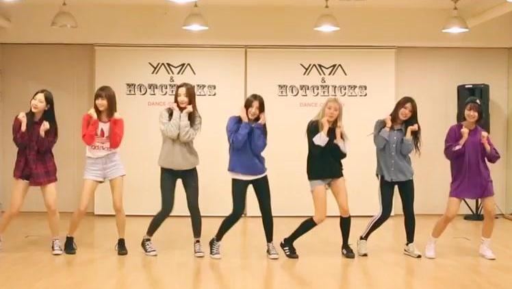 简单舞蹈教学(热播9) 韩国流行舞蹈串烧! 待续.
