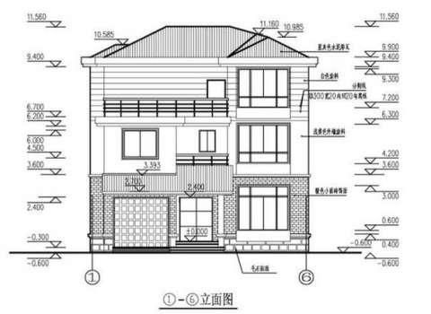 新农村别墅, 11x11米, 主卧室50平米, 含平面图