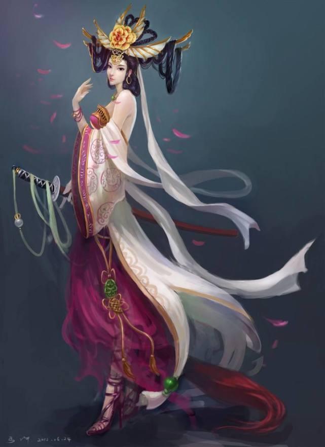 她是古代四大美女之一, 也是三国中少有的奇女子