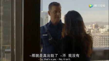 男子为情所困站高楼阳台欲轻生, 消防队员如同蜘蛛侠半空一脚救下