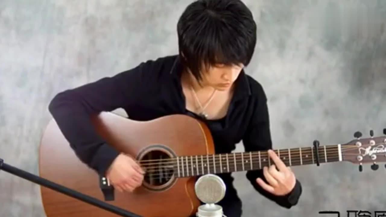 吉他独奏 千千阙歌 C调