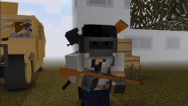 当我的世界中加入绝地求生!吃鸡中也会尿急 吃鸡Minecraft动画 荒野行动 终结者
