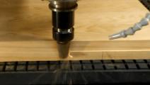 木工机械: 铣床刀具加工茶盘,过程好唯美