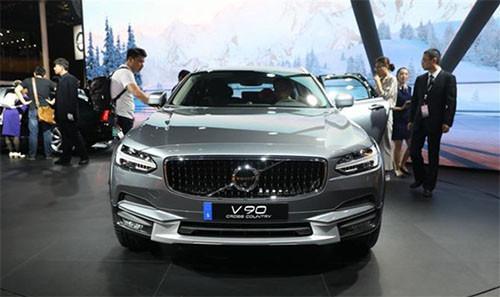 2017上海国际车展, 彭于晏为沃尔沃豪华越野旅行车站台!