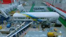中国首台自主研发的C919大型客机碰撞测试,厉害了我的国
