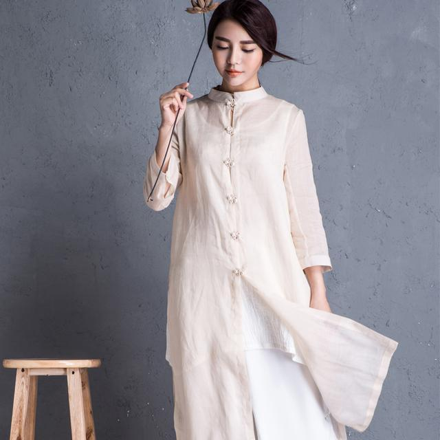 """姑娘不要穿韩版了, """"改良汉服""""才是17年的流行趋势, 优雅大方 16"""