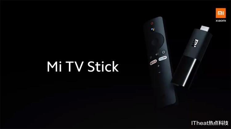小米电视棒体型较小,支持4K,HDR视频输出,HD双解码