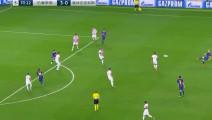 保利尼奥又送世界级传球!梅西这一次深感球商不够,不然就是一粒进球