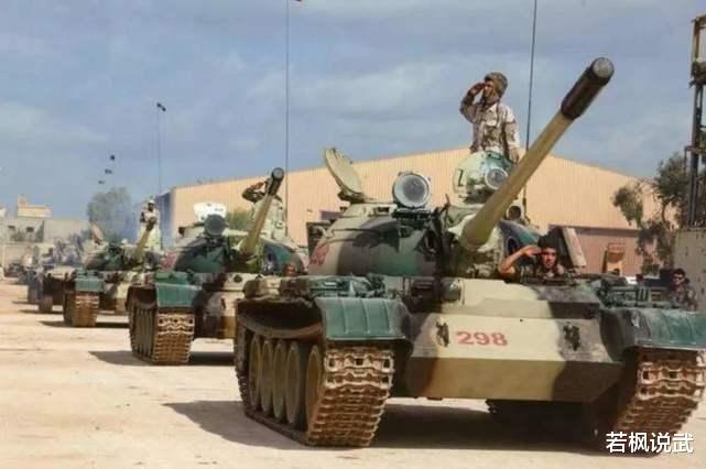 此次对民族团结政府造成巨大的损失,利比亚国民军,并且收获巨大