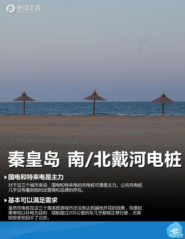 秦皇岛/南,北戴河 北京自驾充电桩大全