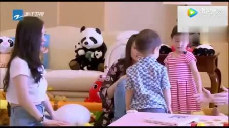 霍思燕扮成树袋熊给嗯哼和杜江惊喜 杜江嗯哼没有认出来 尴尬了!