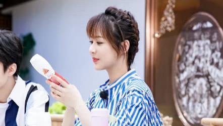 杨紫最新节目照出炉, 新发型备受好评  中餐厅3