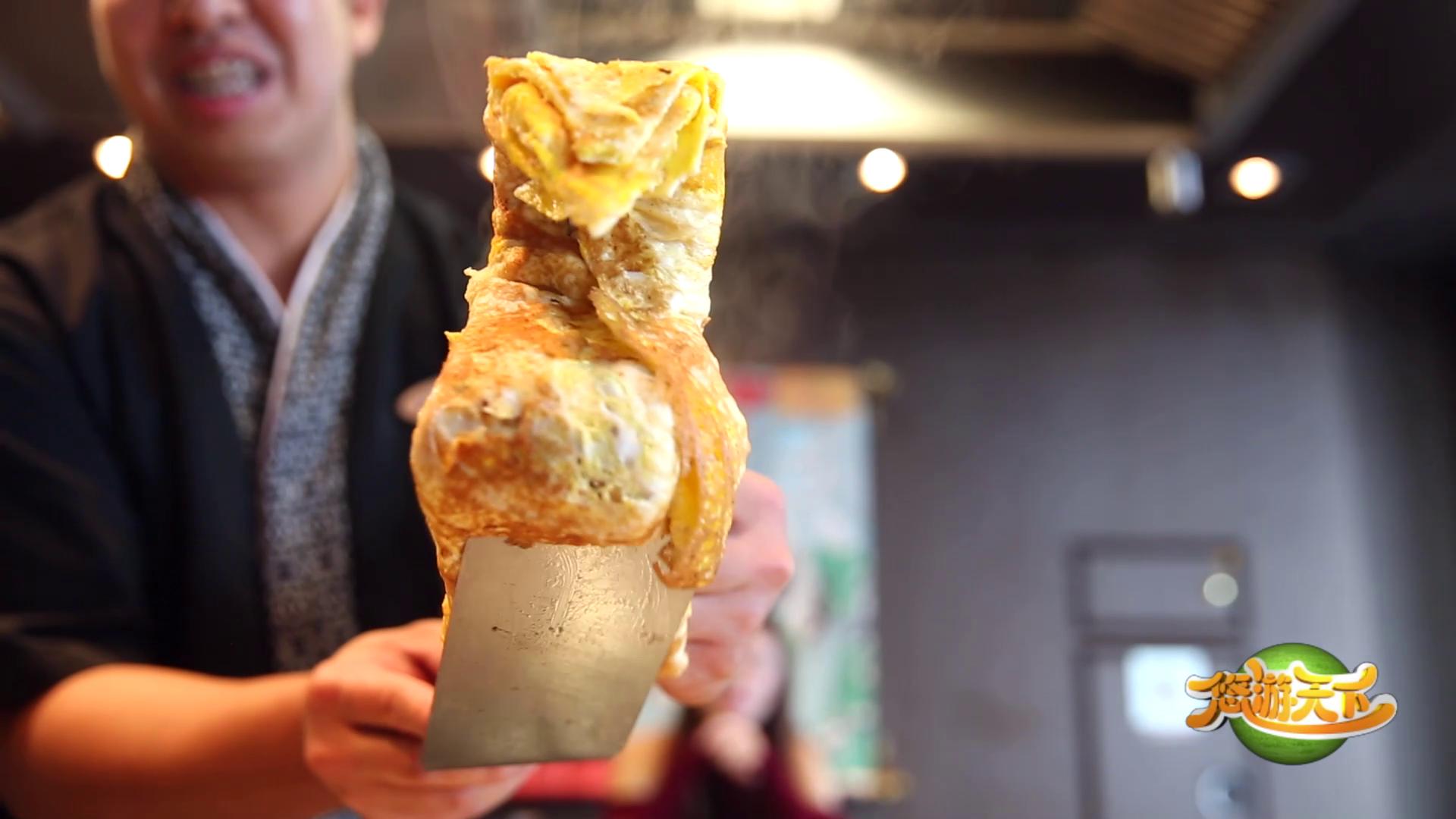 梦邮轮云顶梦号的海马日本料理,铁板烧的主厨不仅做的一手好菜