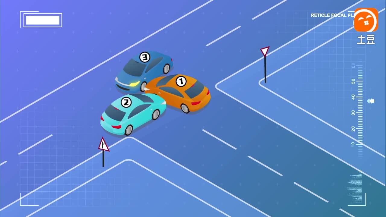 这样的路口撞车, 谁要负责? 交警给出的答案惊呆车主!
