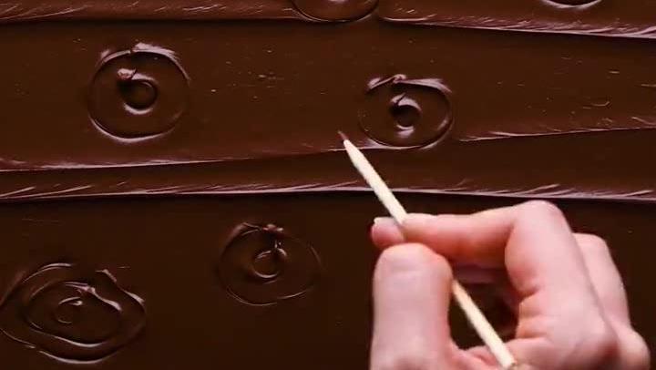 吃货福利,喜欢巧克力的有口福了,浓浓的诱惑啊!
