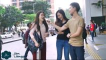 街头采访陌生美女: 男生的身高重要吗,女孩们回答有这些