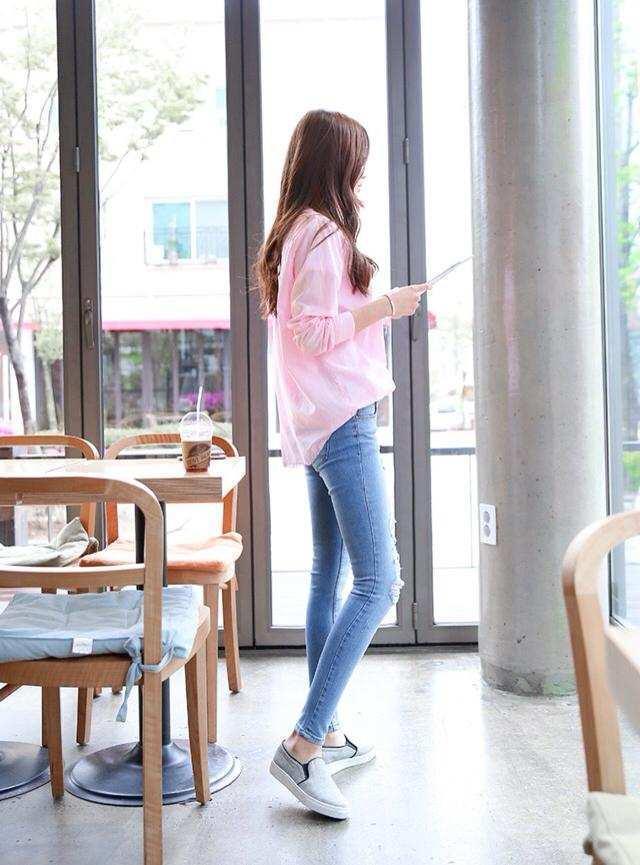 时尚百搭中的牛仔裤, 很多有气质的衣服都是可以搭配的 3
