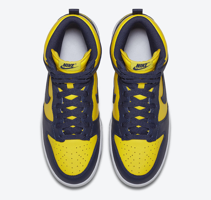 "有真OG内味儿了, Nike Dunk High ""Michigan""9月发售"