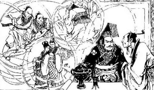 古代漫画简笔画