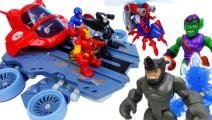 恶徒们偷走了Avengers机器人啦~出动Avengers Helicarrier