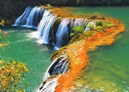 壁纸 风景 旅游 瀑布 山水 桌面 423_300