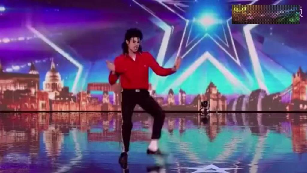 英国达人秀,竟然有人模仿天王迈克尔杰克逊