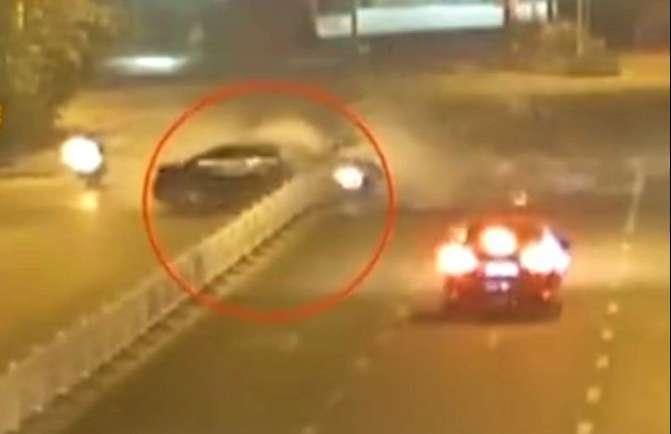 事发广西! 醉驾男子深夜飙车酿悲剧, 被异物刺入身体当场去世