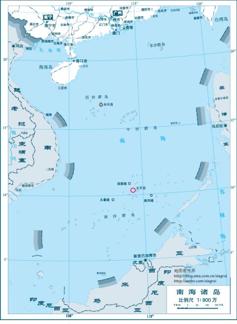 是南沙群岛最大的自然岛,目前陆地面积仅次于永暑岛,美济岛和渚碧岛.