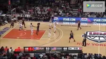 这就是无敌的库里! 回顾下他在美国男篮的精彩瞬间!