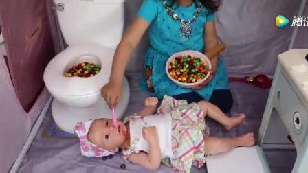 宝宝很棒, 照顾小婴儿便便和喂奶
