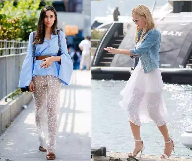 今夏仙气十足的纱裙才是主流, 因为显瘦 28