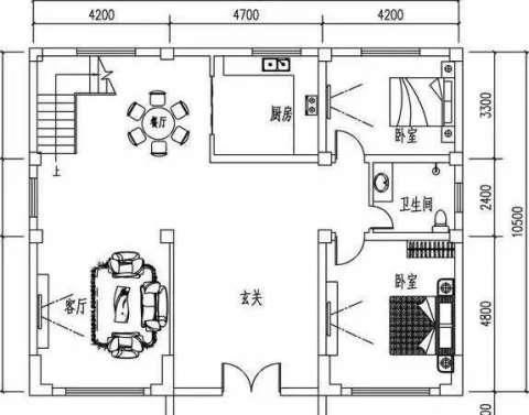 农村自建房平房内部设计图展示