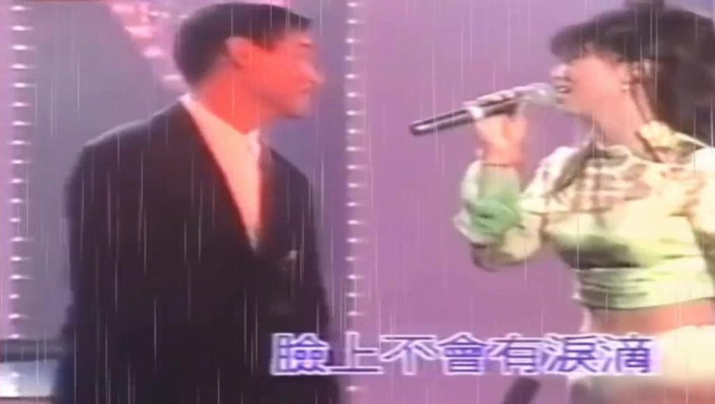 张学友和叶倩文同台演唱《无言的结局》好浪漫!H264高清_1280x