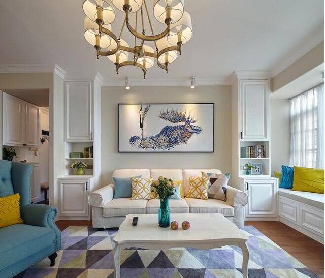 140平房子裝修, 客廳設計好舒適, 家里暖暖的, 每個空間都喜歡