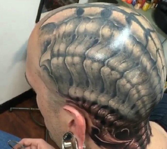 整体手臂纹身手绘图