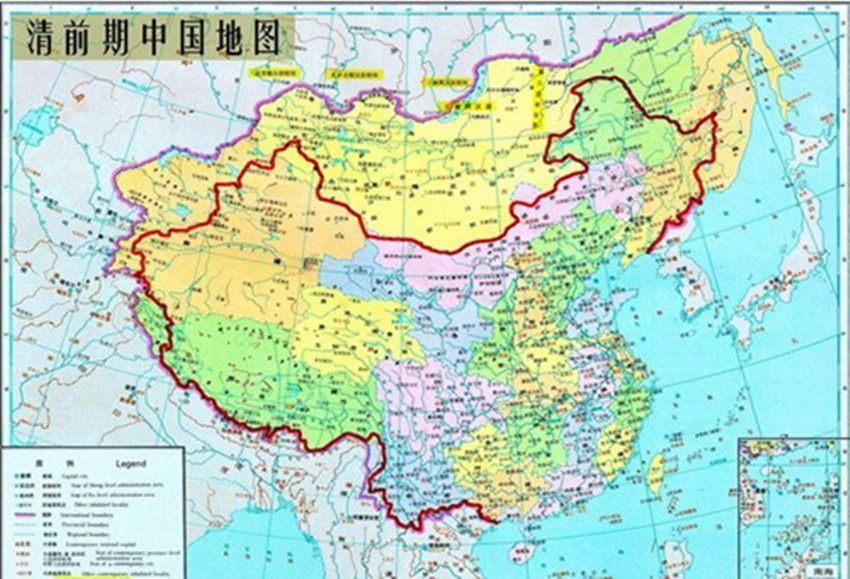 子 , 将大量领土从中国版图抹去, 永远无法收回