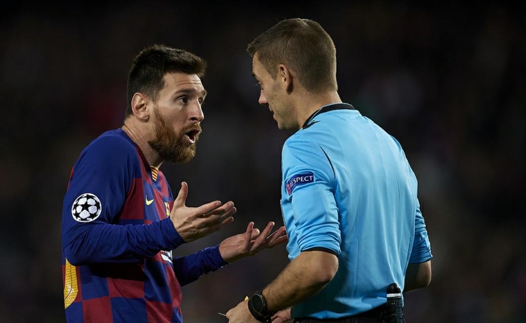 欧冠神奇一夜, 卢卡库打进-1球, 梅西黄牌被比喻闯红灯!