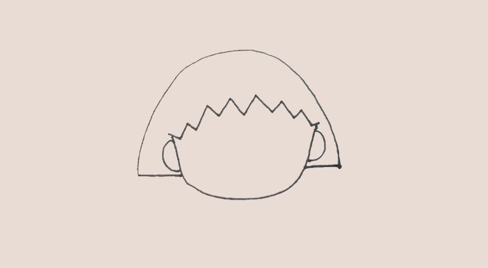 简笔画樱桃的画法 简笔画动画教程之樱桃的绘画分解步骤3