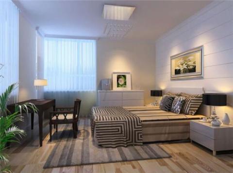 3房一厅装修效果图 84平现代简约三居室样板房