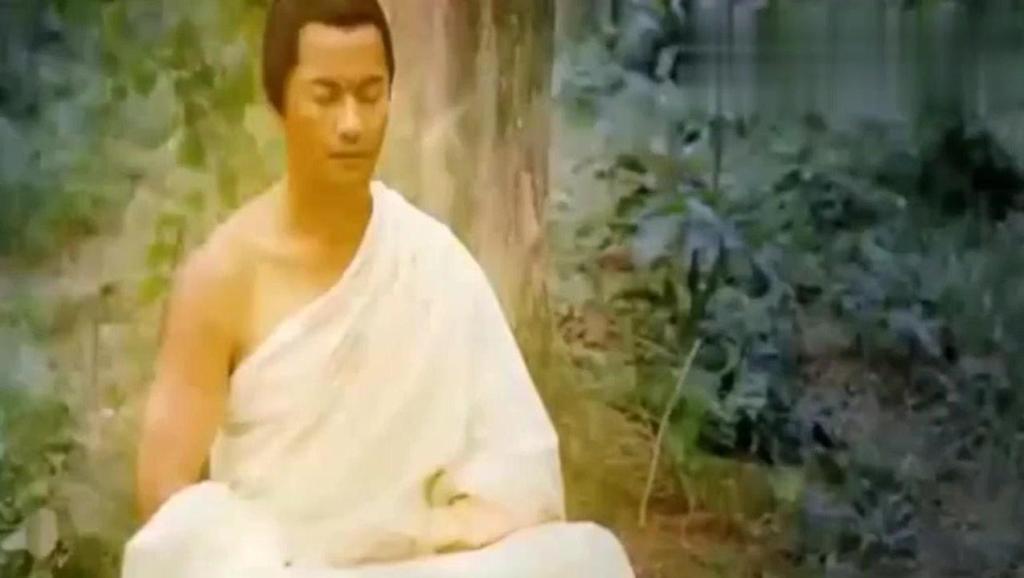 释迦牟尼菩提树下成佛,巨蟒前来为如来佛祖护法
