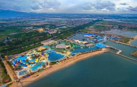 """山海关区乐岛海洋公园 """"借此契机,北戴河新区正全力建设全域全季旅游"""