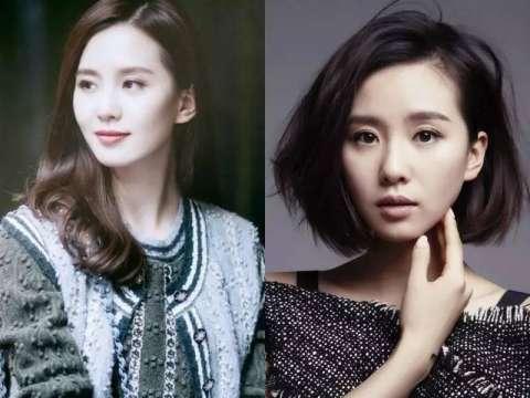 众女明星剪短发后对比照, 发型脱变的魅力无限大!