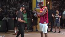 小个子被嘲笑无法灌篮,表演后,NBA球星说可以拿扣篮大赛冠军!