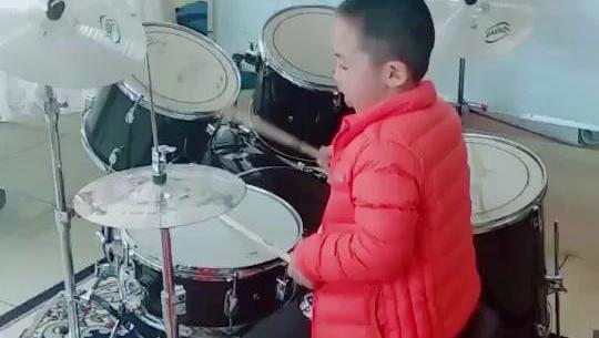小毛驴 架子鼓 赵浩涵