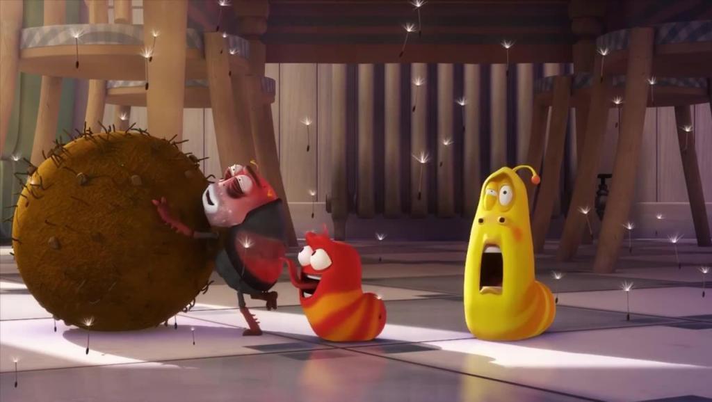 《爆笑虫子》蒲公英,超大号的喷嚏
