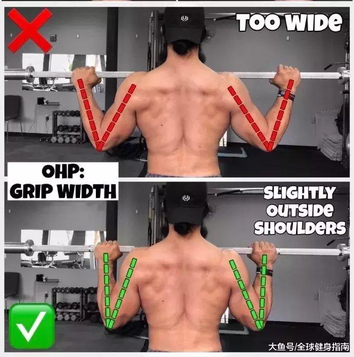 肩上王牌动作――肩上推举(图32)