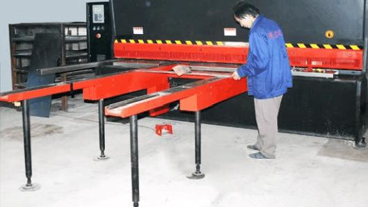 河南地区小折弯机文件柜厂改装前后挡料一体控制解决方案