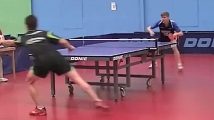 老外乒乓球比赛神救球在日本爆红 张继科马龙能打出来吗?