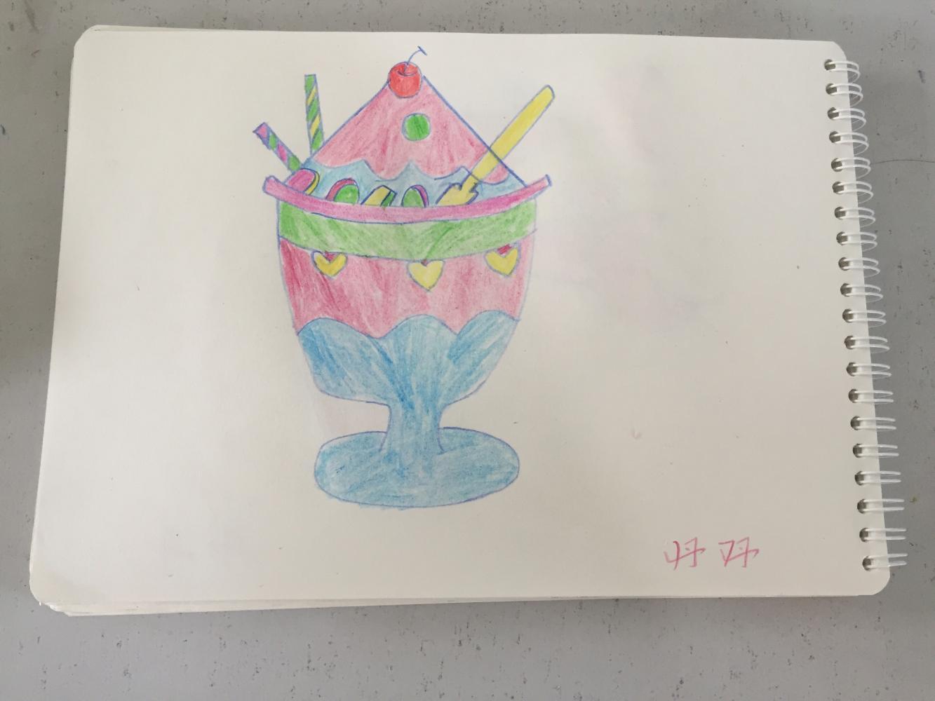丹丹老师儿童简笔画系列18——冰淇淋